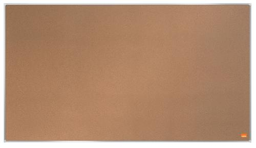 Nobo Impression Pro Widescreen Cork Noticeboard Aluminium Frame 890x500mm