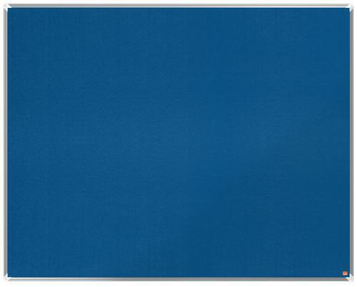 Nobo Premium Plus Blue Felt Notice Board 1500x1200mm