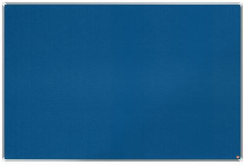 Nobo Premium Plus Blue Felt Noticeboard Aluminium Frame 1800x1200mm