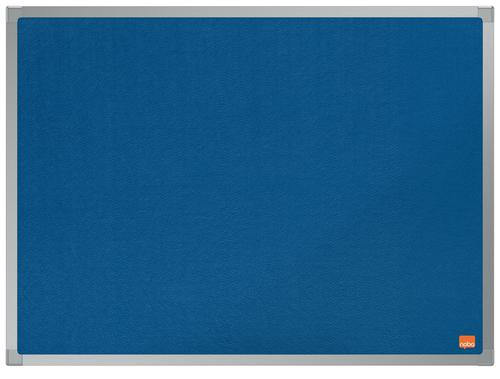 Nobo Essence Blue Felt Notice Board 600x450mm