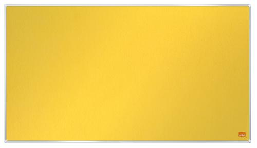 Nobo Impression Pro Widescreen YW Felt Board 710x400mm