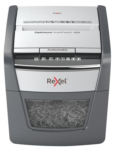 Rexel Optimum AutoFeed Shredder 45X