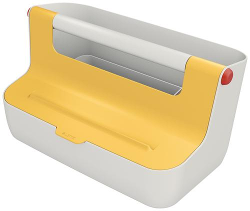 Leitz Cosy Storage Carry Box Warm Yellow