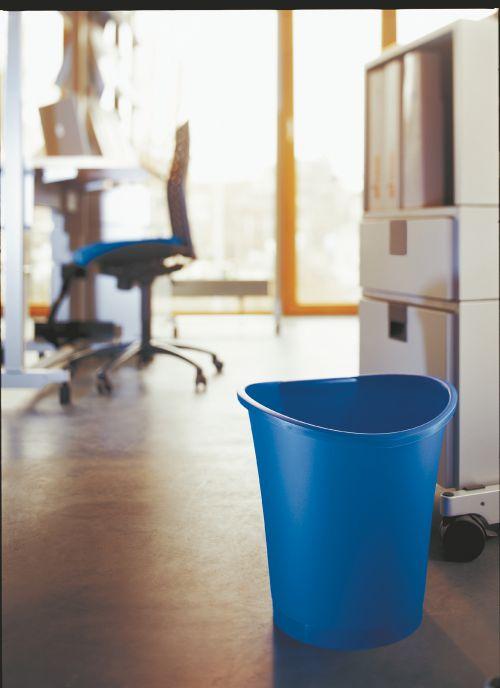 Esselte Intego Waste Bin 18Litre Blue