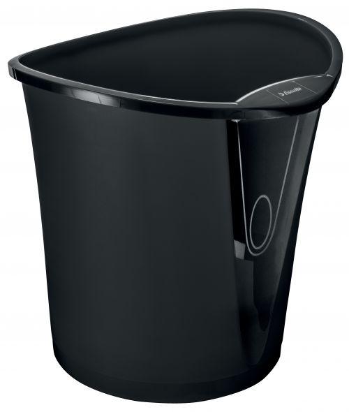 Esselte Intego Waste Bin 18Litre Black