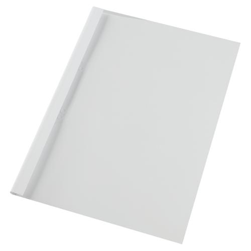 GBC A4 Thermal Binding Covers 4mm Gloss White PK1000
