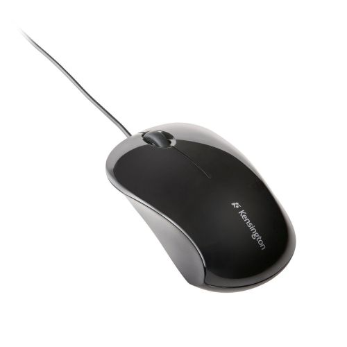 Kensington ValuMouse Wired Optical Three-Button Mouse USB Optical 1000dpi Both Handed Black Ref K72110EU