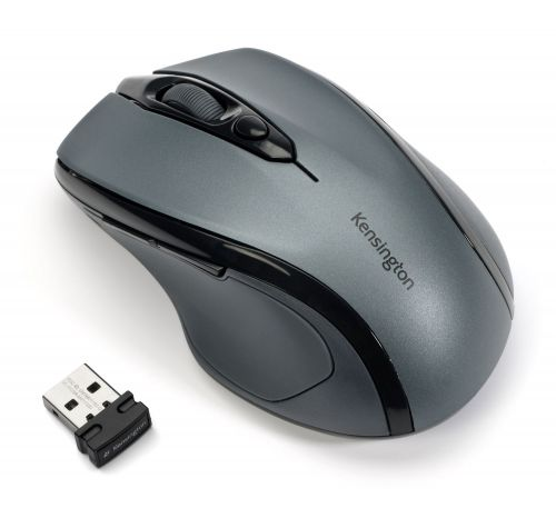 Kensington Pro Fit Mid-Size USB Wireless Mouse Grey K72423WW