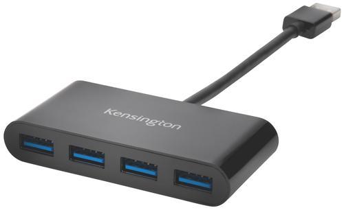 Kensington USB 3.0 4-Port Hub Black