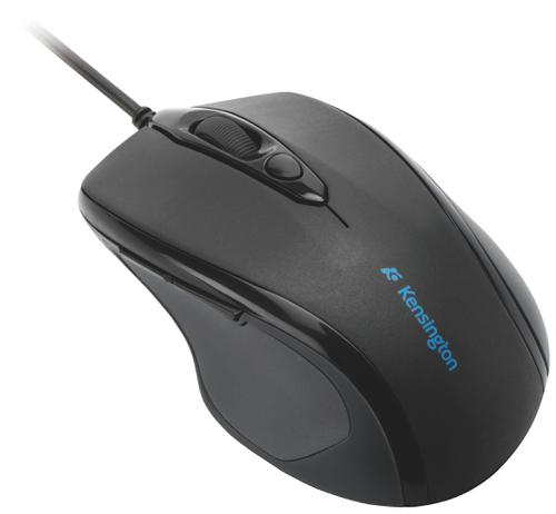 Kensington Pro Fit™ Wired Mid-Size Mouse Black