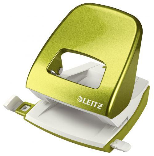 Leitz NeXXt WOW Hole Punch 3mm 30 Sheet Green