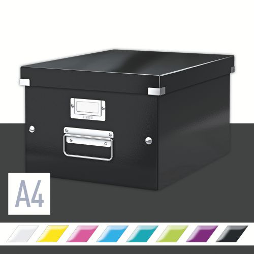 Leitz Wow Click & Store A4 Box Black