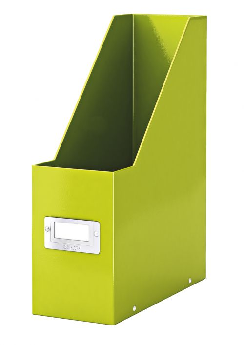 Leitz Wow Click & Store Magazine File Green