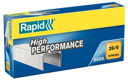 Rapid Strong Staples 26/6  (5000) - Outer carton of 5