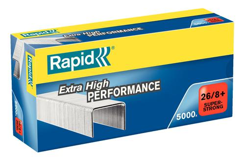 Rapid SuperStrong Staples 26/8+ (5,000)