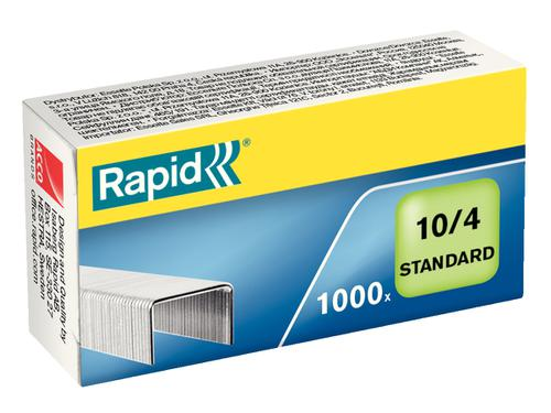 Rapid Standard Staples No. 10  (1000) - Outer carton of 20