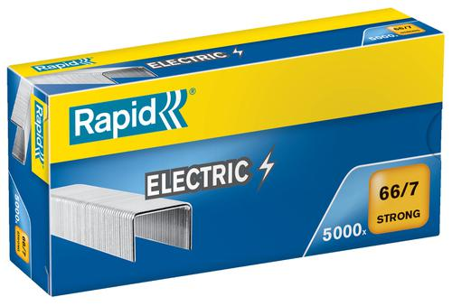 Rapid Strong Staples 66/7 Electric  (5000) - Outer carton of 5
