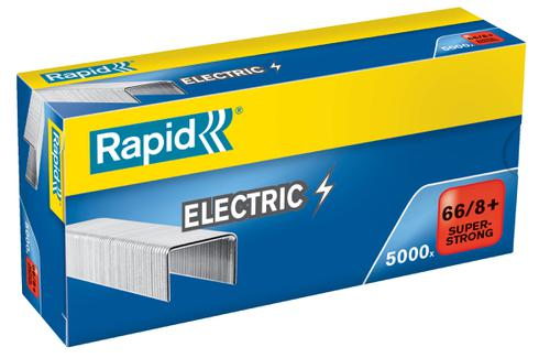 Rapid SuperStrong Staples 66/8+ Electric (5,000)