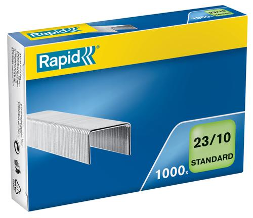 Rapid Standard Staples 23/10  (1000) - Outer carton of 10