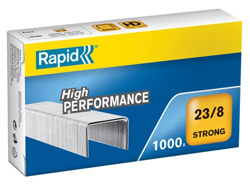 Rapid Strong Staples 23/8  (1000) - Outer carton of 5