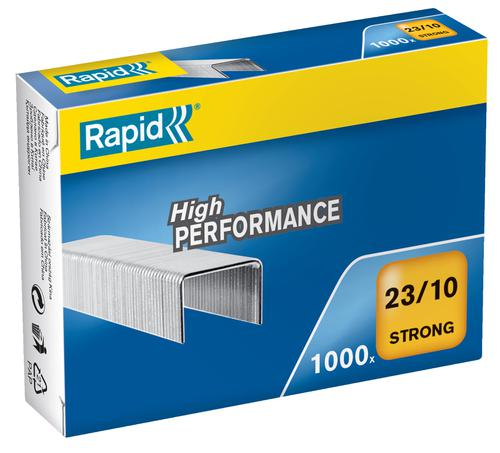 Rapid Strong Staples 23/10  (1000) - Outer carton of 5