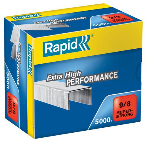 Rapid SuperStrong Staples 9/8 (5,000)