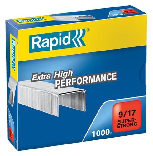 Rapid SuperStrong Staples 9/17  (1000) - Outer carton of 5