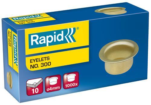 Rapid Eyelet Staples 300/4 (1,000)