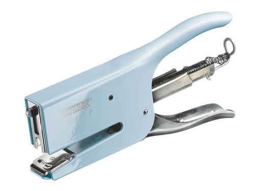 Rapid Retro Classic Stapling Pliers K1 Fondant Blue