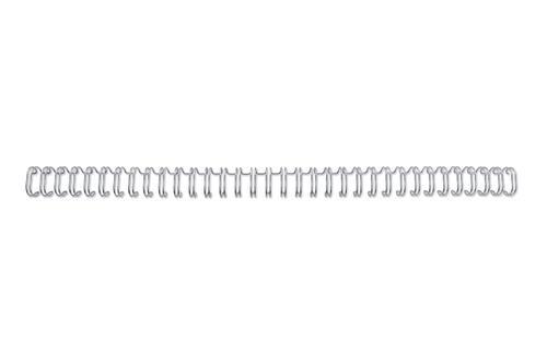 GBC 34 Loop Wire Elements 95mm No6 Silver RG810697 (PK100)