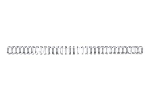 GBC Binding Wire Elements 34 Loop Silver 11mm A4 PK100