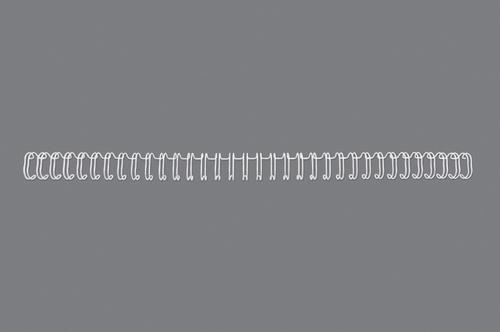 GBC WireBind Binding Wire 34 Loop No8 12.5mm White PK100
