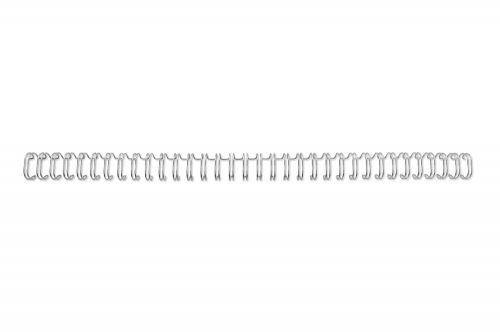 GBC Silver A4 6mm 34-Loop Binding Wires 3:1 Pitch (Pack of 100) RG810497U