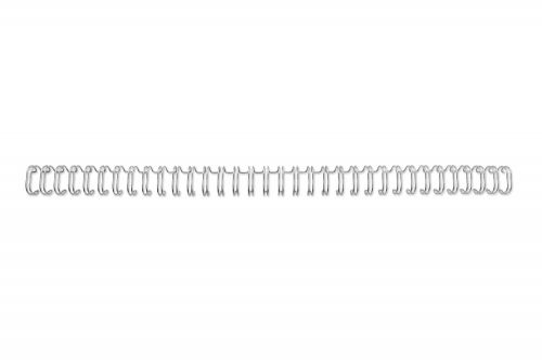 GBC Binding Wire Elements 34 Loop for 125 Sheets 14mm A4 Silver Ref RG810997U [Pack 100]