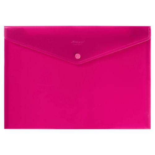 Rexel Polypropylene Carry Wallet A4 Red  16129RD (PK5)