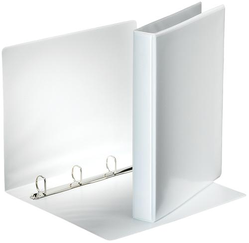 Rexel A4 Presentation Binder; White; 25mm 4D-Ring Diameter - Outer carton of 10