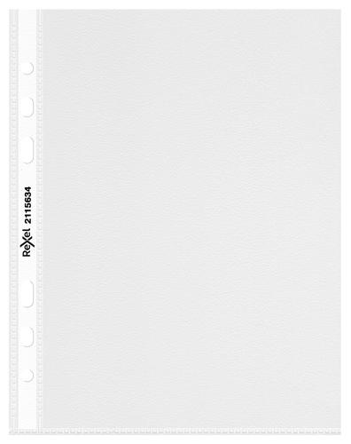 Rexel 2115634 A5 Premium Heavy Duty Polypropylene Pocket - Transparent - Outer carton of 4