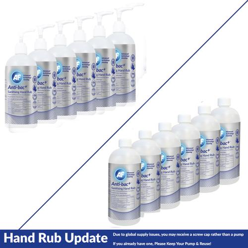 Anti-Bac Sanitising Hand Rub (Pack of 6) ABHHR500_6