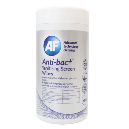 Anti-Bac Sanitising Screen Wipes (Pack of 60) ABSCRW60T