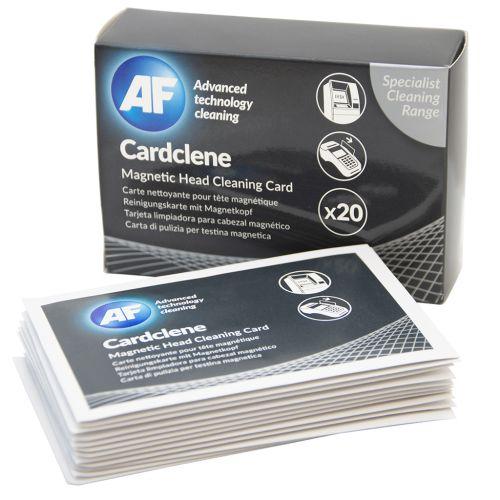AF Cardclene (Impregnated) Cleaning Cards PK 20