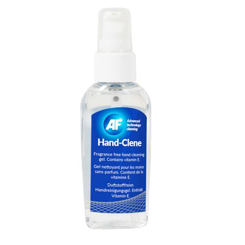 AF Handclene - Pump Bottle Of Hand Cleaning Gel 50ml. Code HSG050