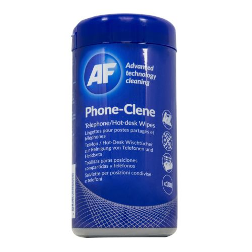 AF Phoneclene Hygenic Wipes Tub of 100