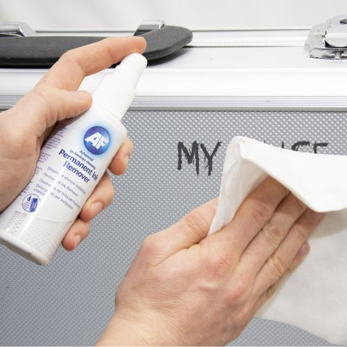 AF Permanent Ink Remover 125ml Pump Spray (Suitable for whiteboards CD Dvds) APIR125