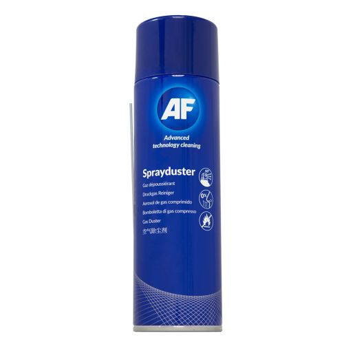 AF Sprayduster Compressed Air Duster 400ml Can ASDU400D