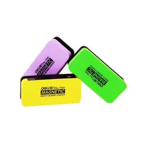 Deli Whiteboard Eraser Ast Bx12