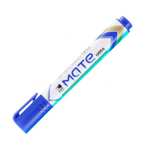 Deli Mate Whiteboard Marker Chisel Blue Box 12