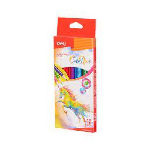 Deli Colorun Colour Pencils Pack 12