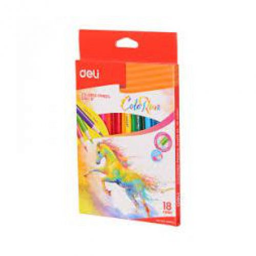 Deli Colorun Colour Pencils Pack 24
