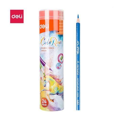 Colorun Pencil Tube Assorted Pack 24