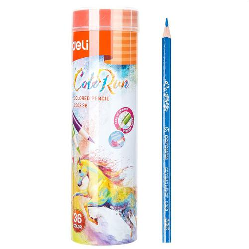 Colorun Pencil Tube Assorted Pack 36
